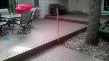 Timbertech PVC Capped Deck – Low to Ground