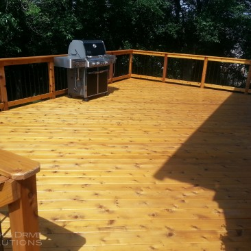 Deck Resurface and then Seal