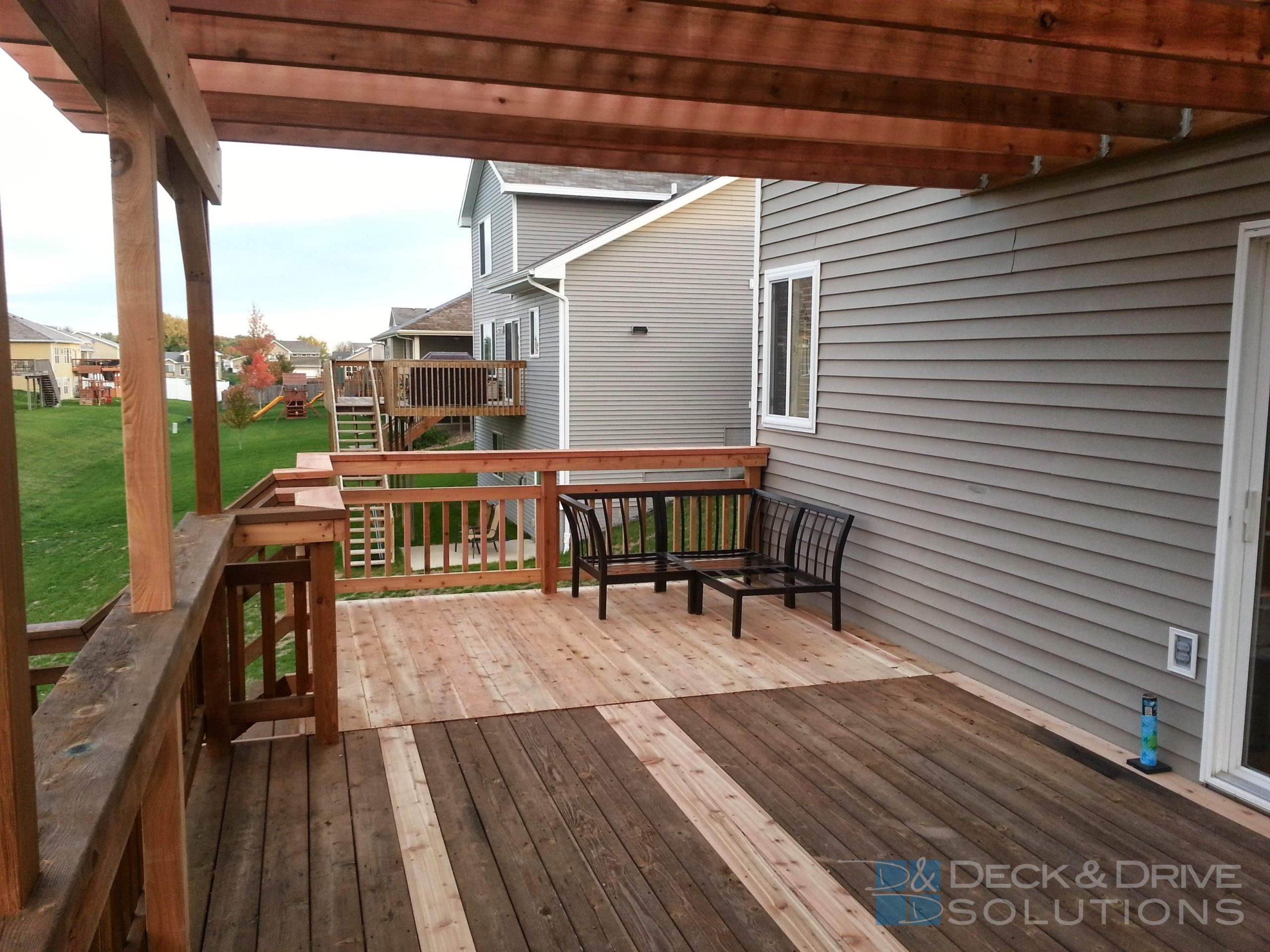Deck Addition And New Pergola