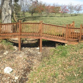 Wash and Seal Custom Wood Bridges