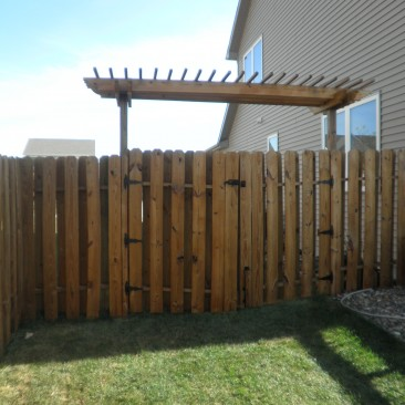 Fence Sealed with Cabot Cedar Toner