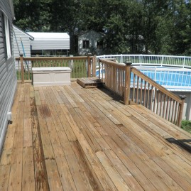 Simple Deck Wash