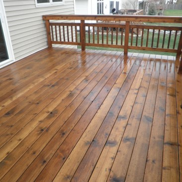 Just a Deck Wash