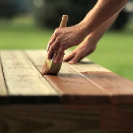 Wood Deck Maintenance throughout the year