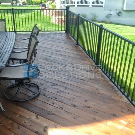 Mission Brown Penofin on New Cedar Deck