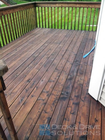 Smaller Deck even Needs the right kind of TLC