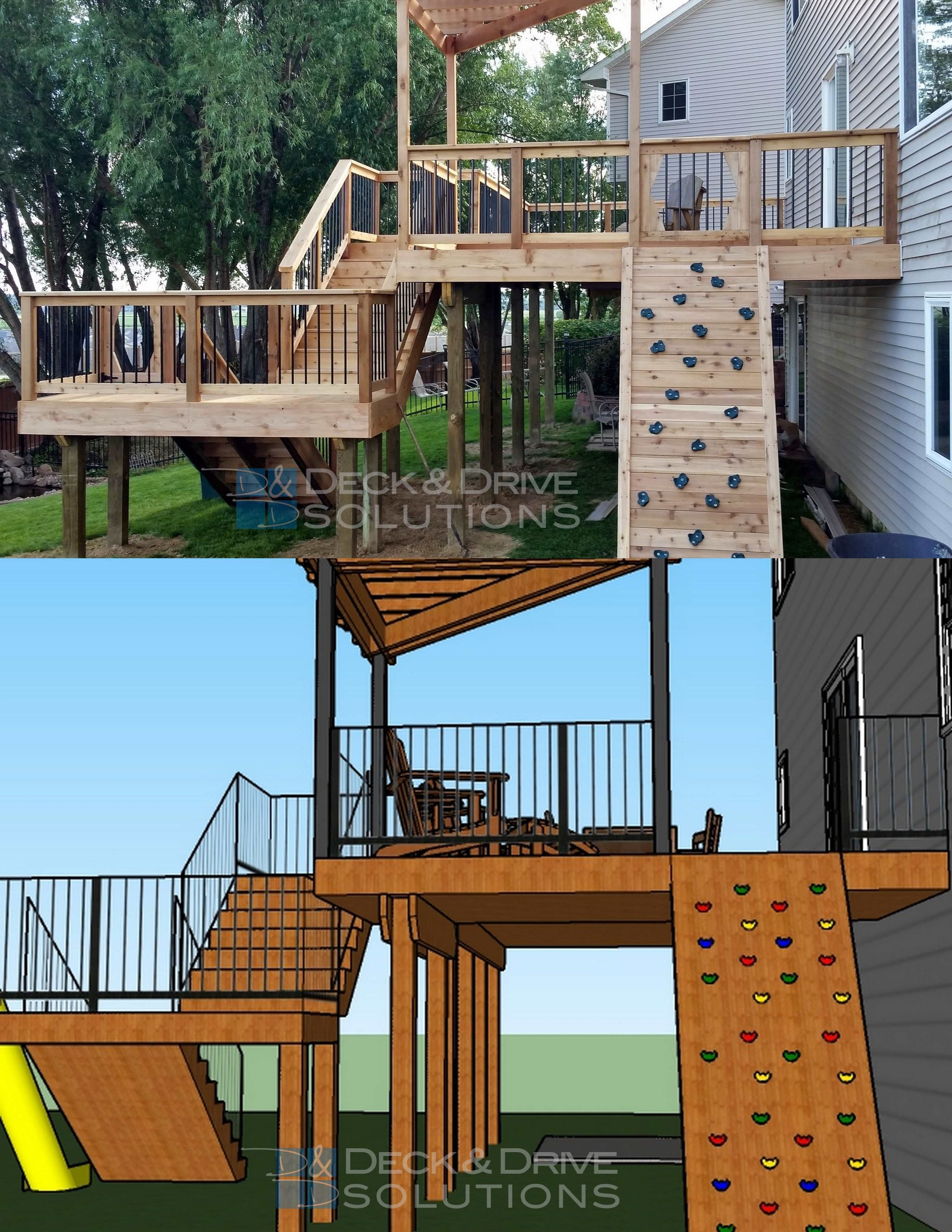 How To Build A Deck Off The House