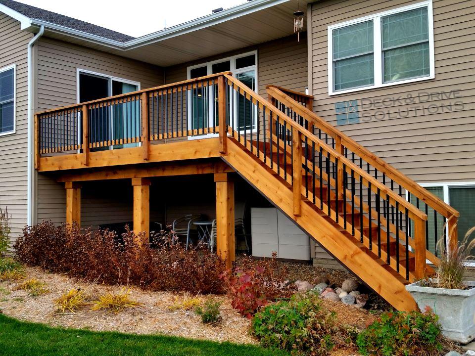 Cedar Decku0027s Rail, Stairs And Skirting Upgrade