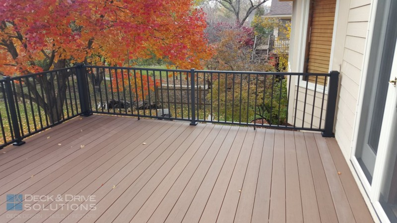 Timbertech Resurface With Aluminum Railing Des Moines