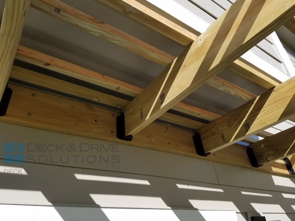 Custom Pergola with Ozco Brackets - Custom Pergola With Ozco Brackets Des Moines Deck Builder - Deck