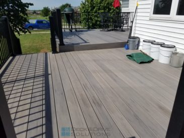 Timbertech Deck with 2 Outdoor Living Areas