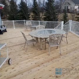 Resurface Cedar with White Westbury