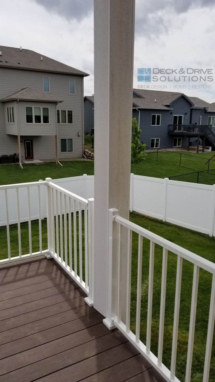 Timbertech Rustic Elm Deck Addition And Resurface Des