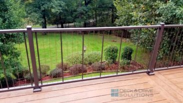 Deck Resurface with Verti Cable Rail