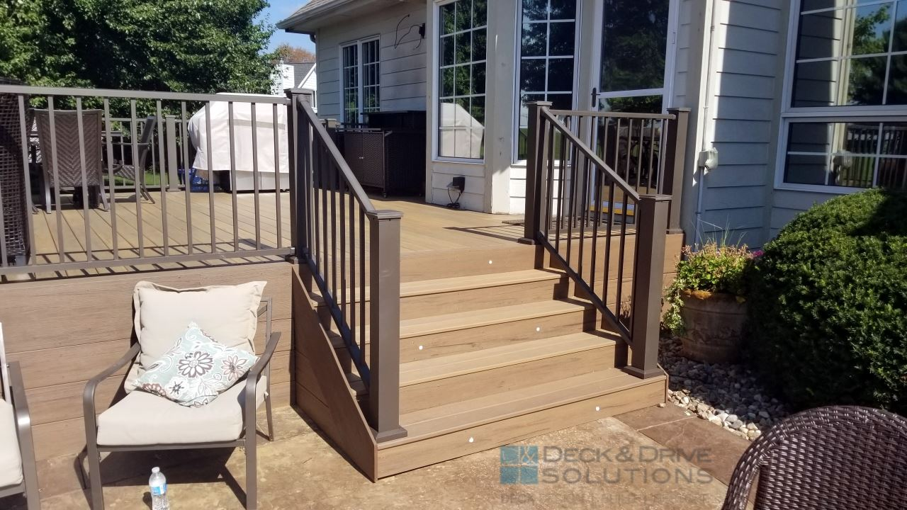Composite Timbertech Deck With Under Deck Skirting Des