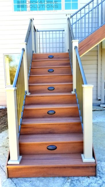 Timbertech and 2 Color Westbury Rail
