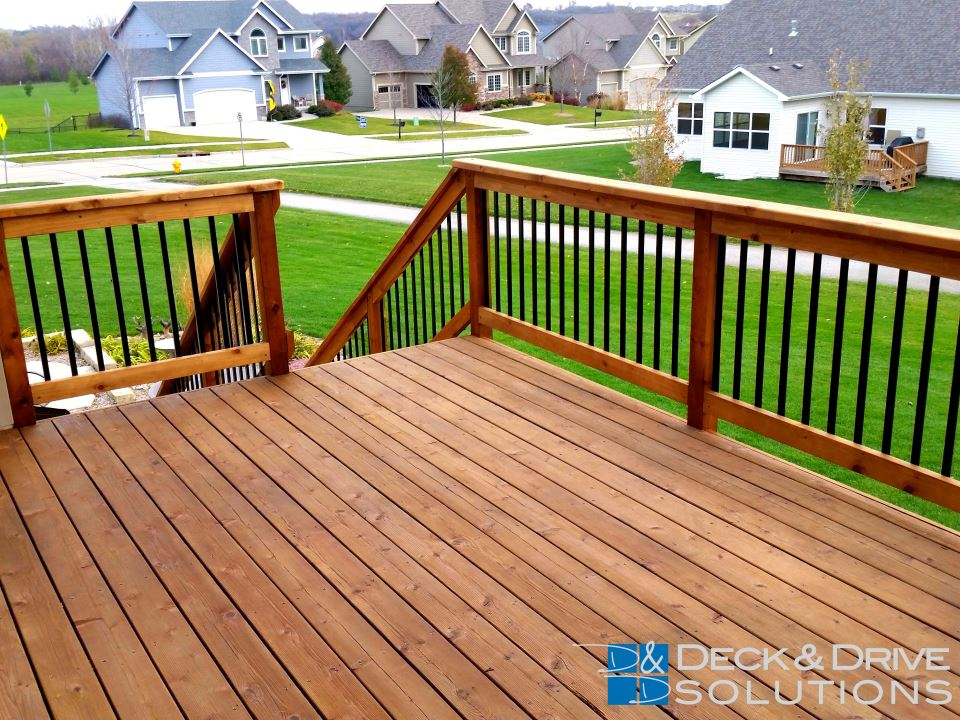 Cedar Deck S Rail Stairs And Skirting Upgrade Des