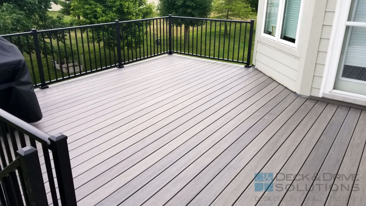 Timbertech Ashwood Deck Deck And Drive Solutions Iowa