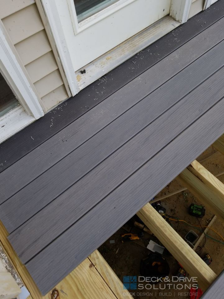 Timbertech With Lean To Roof Des Moines Deck Builder
